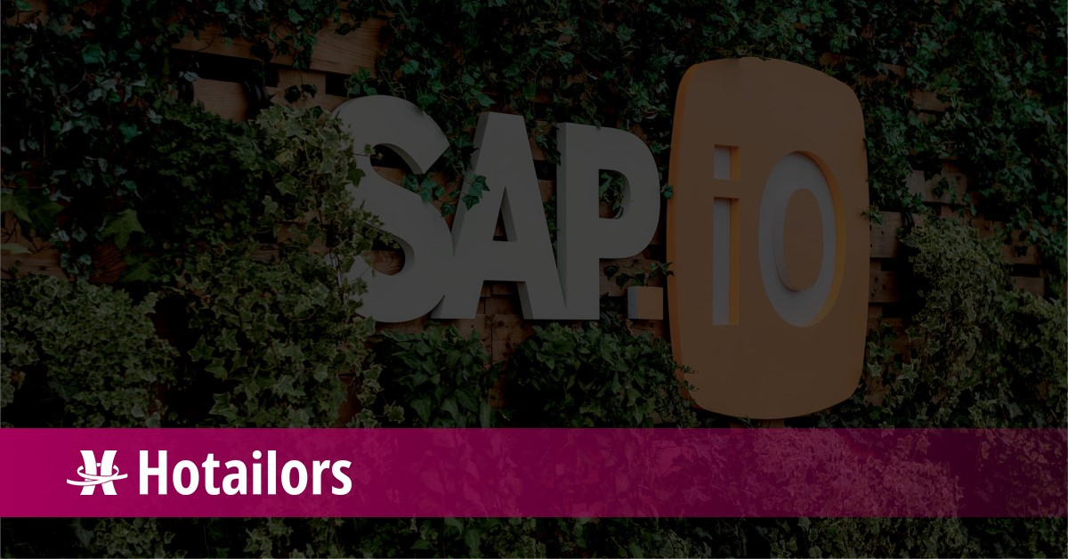 SAP.iO Foundry chooses Hotailors, pioneers in contingent workforce travel management.